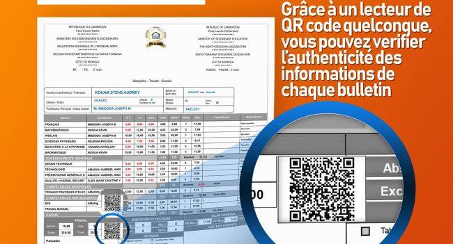 Zéro falcification des bulletin généré par logesco, Authenticité des bulletin garantie